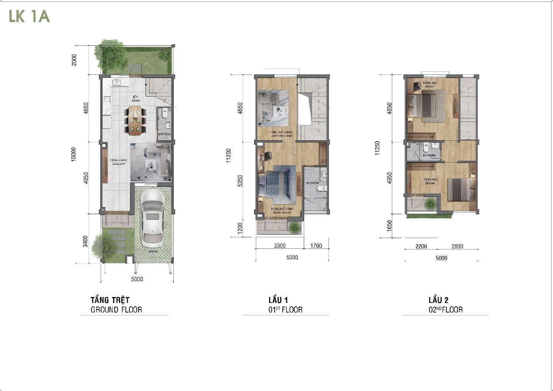 thiết kế 5x15 dự án lovera park bình chánh
