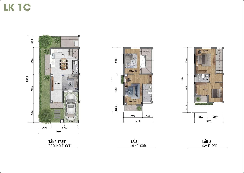 thiết kế 7x15dự án lovera park khang điền bình chánh