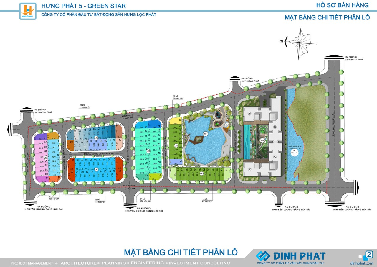 mặt bằng phân lo chi tiết dự án green star quận 7