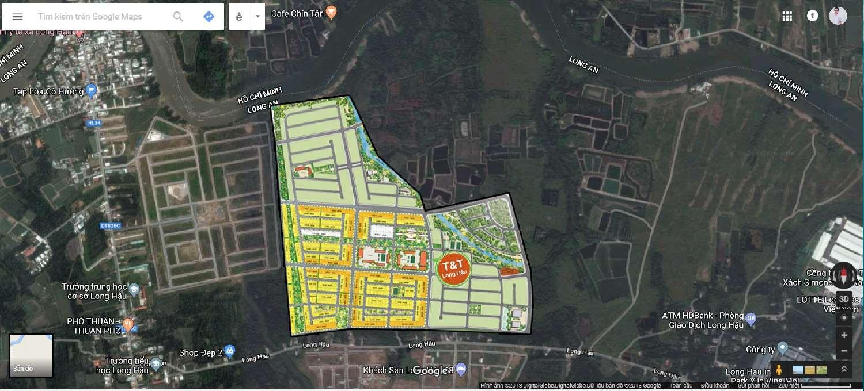 Mặt bằng tổng giai đoạn 1 dự án Millennia City Long Hậu