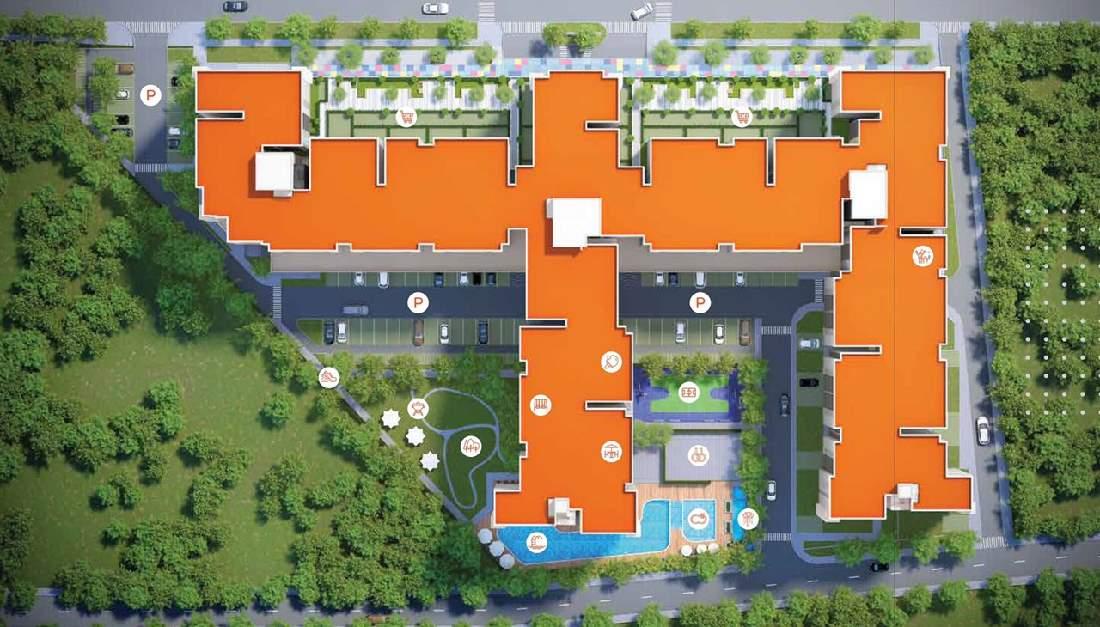 Mặt bằng dự án căn hộ Hausbelo Quận 9 EZland