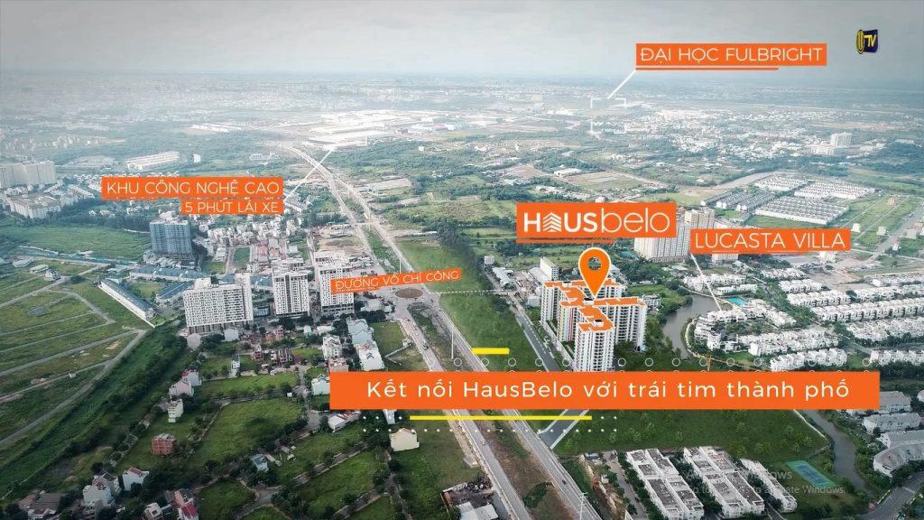 Vị trí dự án căn hộ Hausbelo Quận 9 EZland