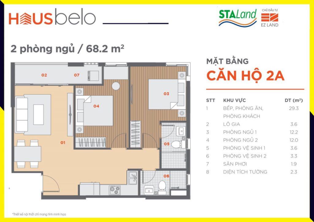 Thiết kế chi tiết dự án Hausbelo Phú Hữu Quận 9
