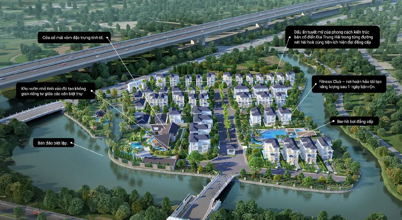 Dự án Biệt thự đẳng cấp The Venica Khang Điền Quận 9