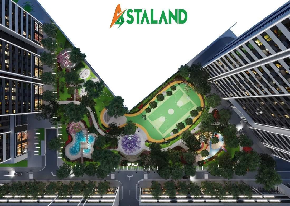Công viên Trung Tâm Căn Hộ Aio City