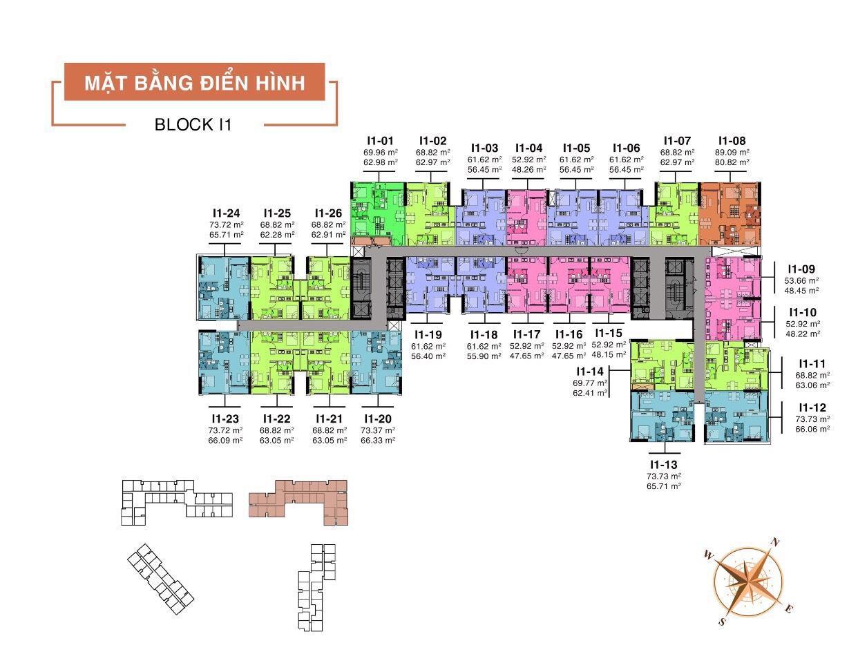 Block I1 Dự án Aio City Hoa Lâm
