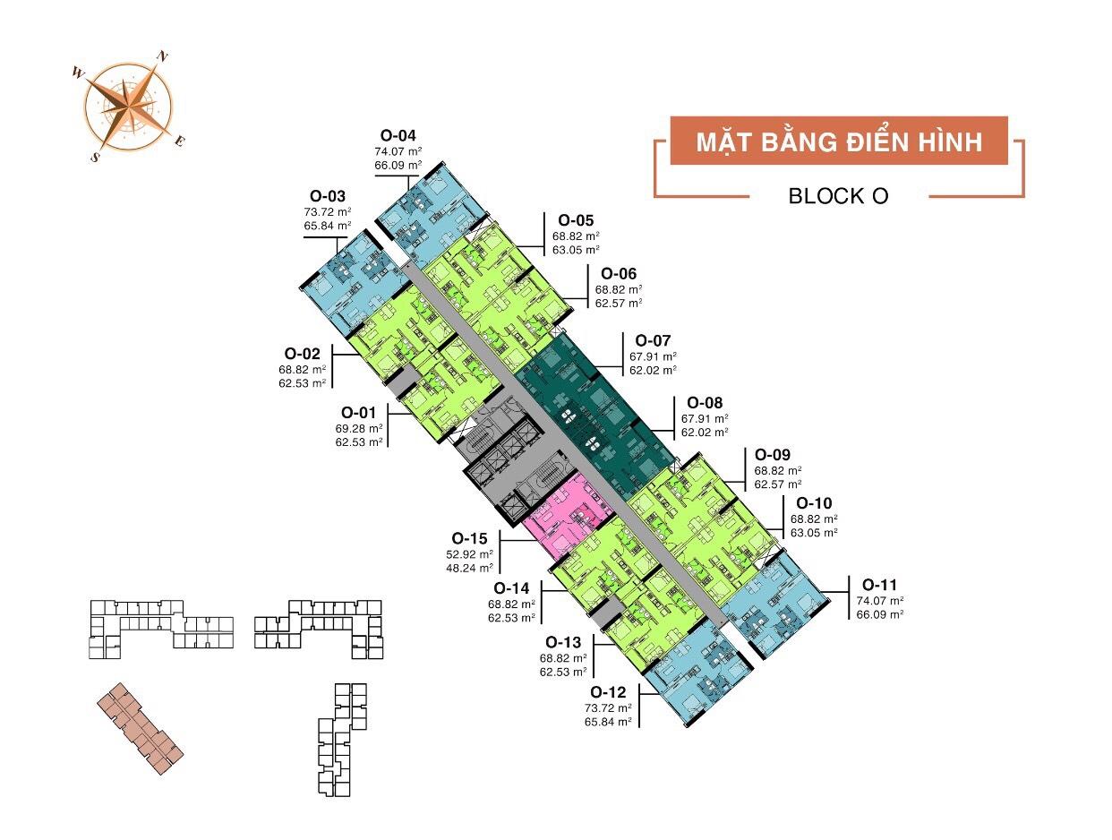 Block O dự án Aio City Bình Tân
