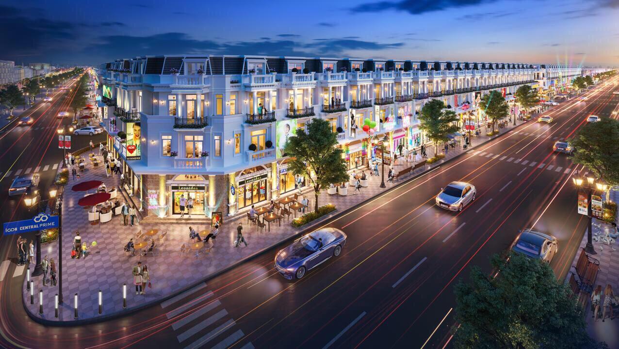 dự án nhà phố Central Hill Nam Sài Gòn CĐT Thắng Lợi