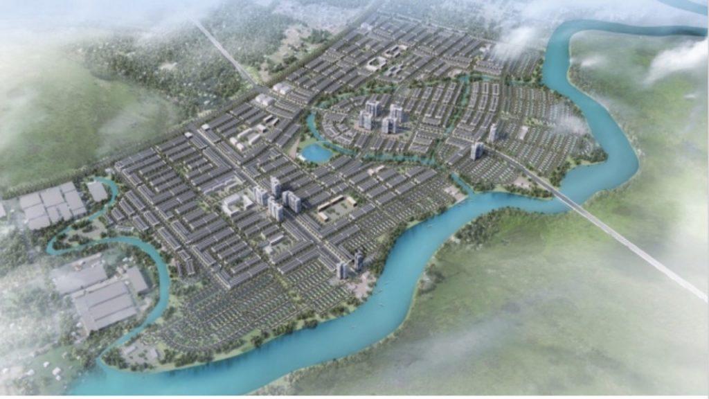 Mặt bằng tổng khu dư án T&T Long Hậu Millennia City