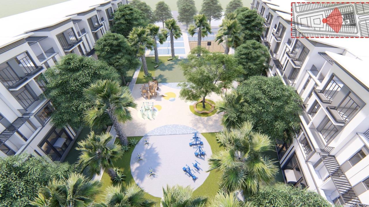 Tiện ích dự án đất nền nhà phố tại Long Hậu