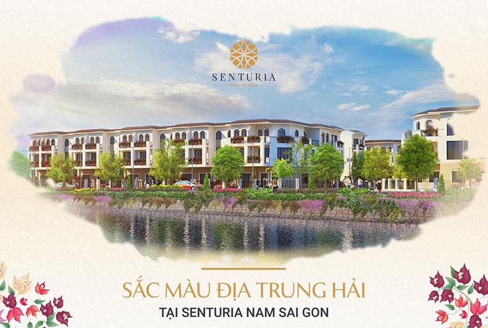 Mẫu nhà phố thương mại Dự án Senturia Nam Sài Gòn CĐT Tiến Phước.