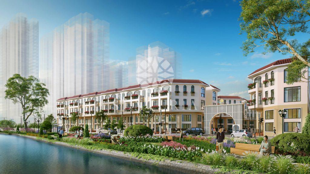 Mẫu nhà Dự án biệt thự nhà phố Senturia Nam Sài Gòn CĐT Tiến Phước.
