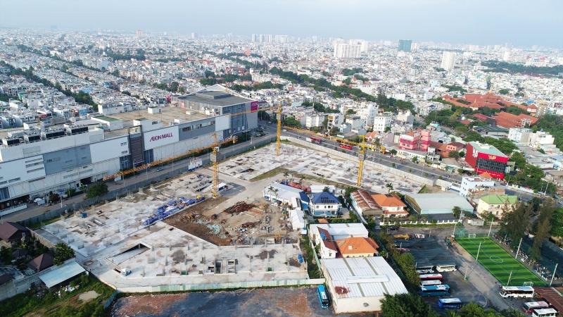 Tiến độ aio city Hoa Lâm tới tháng 4 năm 2020. Liên hệ 0901 87 6698 để được cập nhật tiến độ xây dựng cũng như lộ trình mở bán