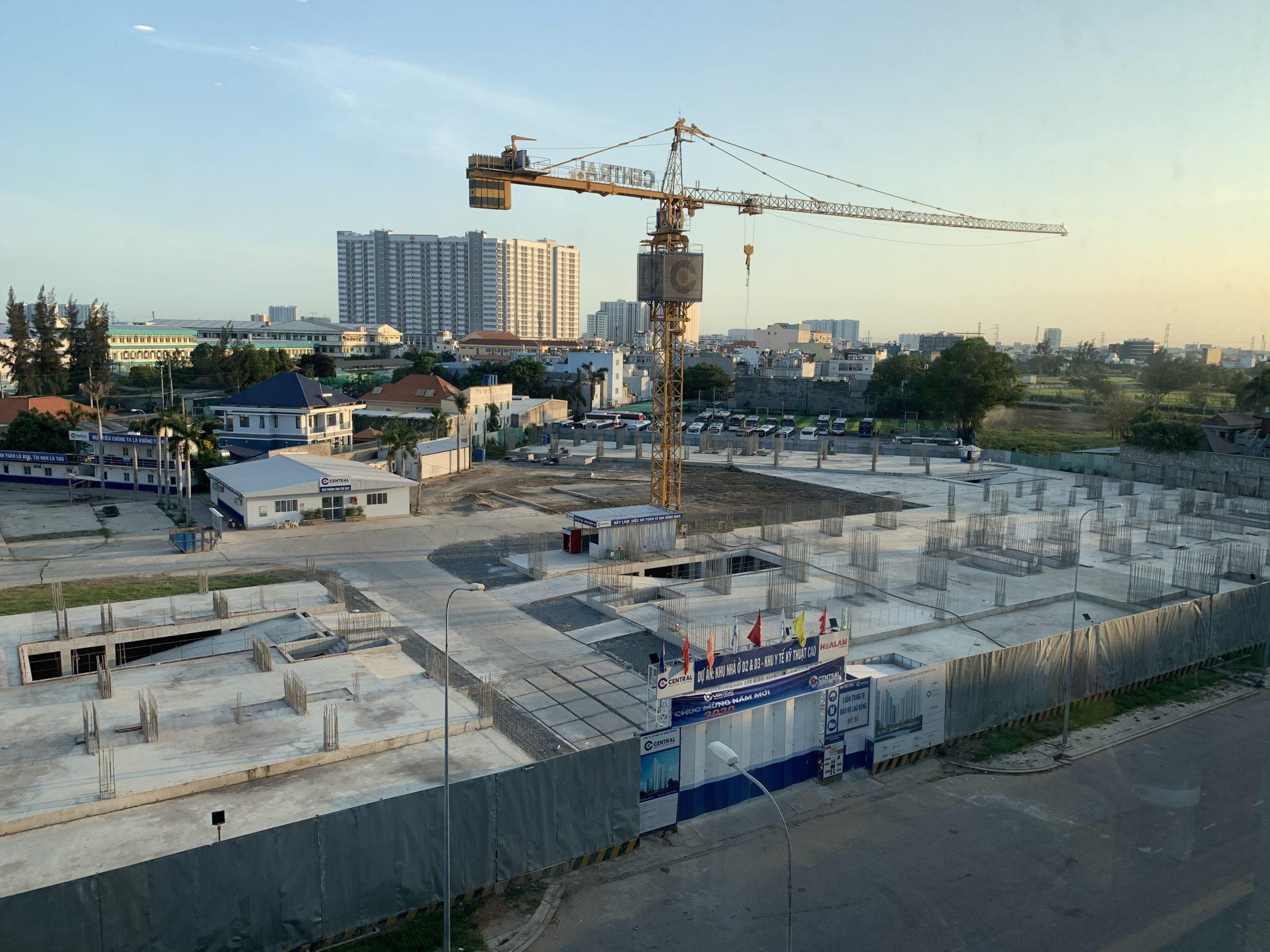 tiến độ aio city tháng 2 năm 2020