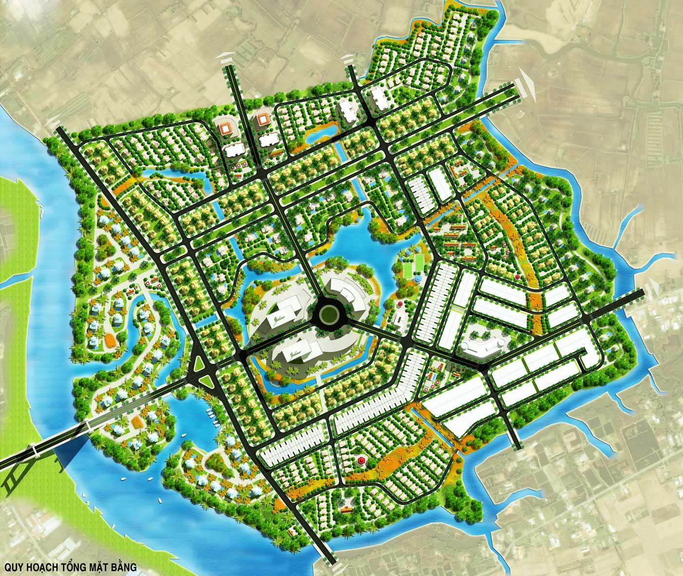 Tổng khu dự án The Green Village Bình Chánh
