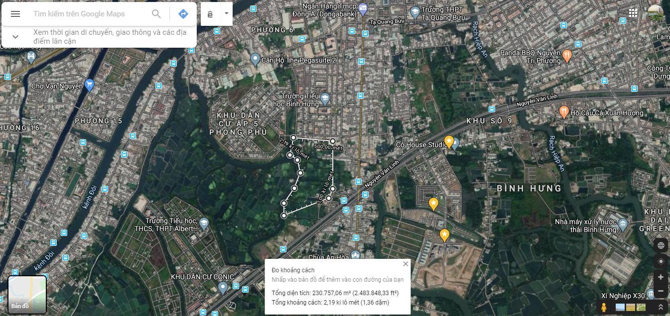 Vị trí Corona City Khang Điền Phong Phú 5
