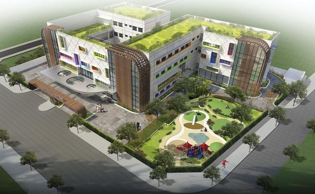 Hệ thống trường Quốc Tế tại dự án Eco Green