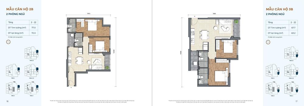 Thiết kế căn hộ Precia quận 2