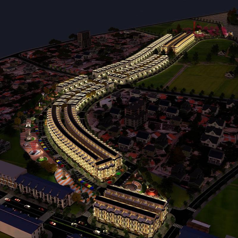 Mặt bằng tổng thể J Dragon Nhà mặt tiền Trần Hưng Đạo Cần Đước Dự án đất nền J-Dragon kế bên dự án Riverside Market