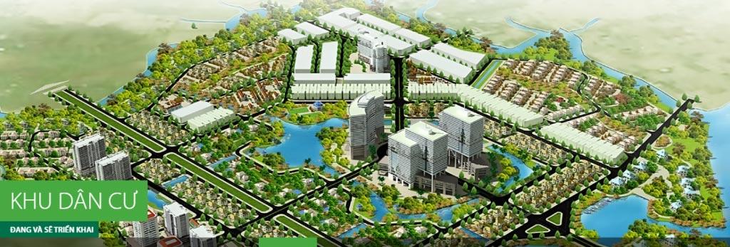 Dự án căn hộ nhà phố biệt thự The Green Village CĐT Khang Điền