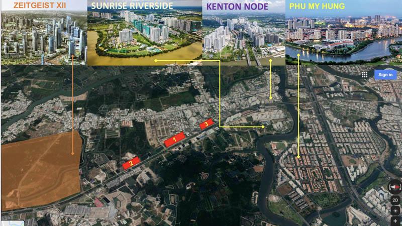 Kết nối vùng căn hộ Celesta Rise Nguyễn Hữu Thọ CĐT Keppel Land