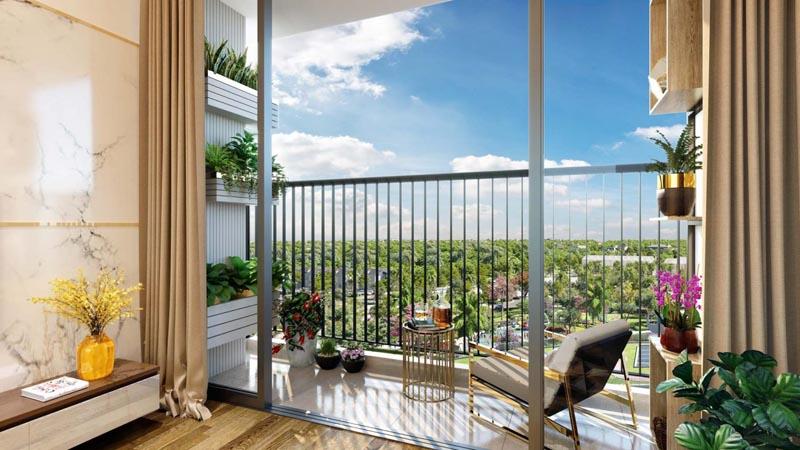 Nhà mẫu căn hộ Eco Green Quận 7