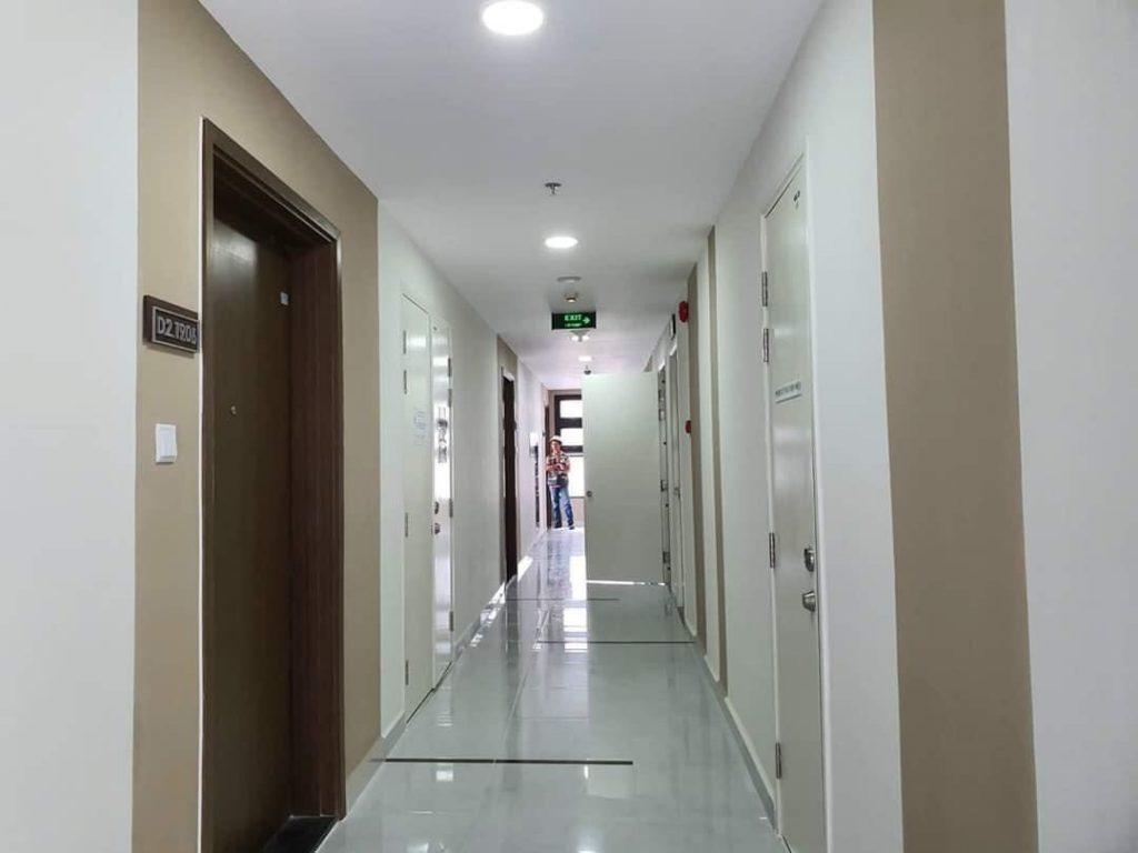 Hành lang căn hộ Safira Khang Điền Quận 9