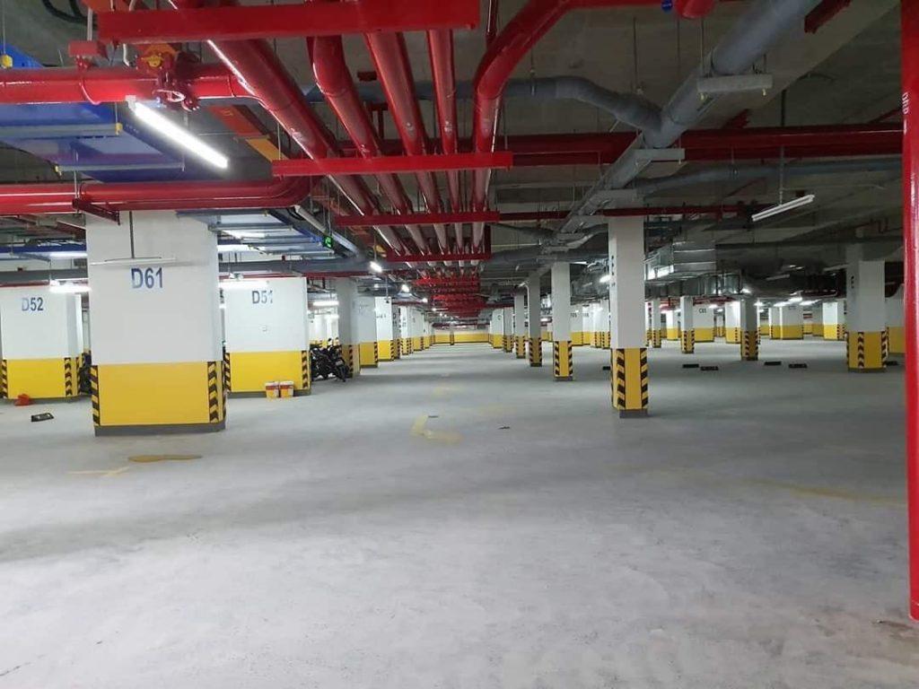 Hầm để xe dự án Safira Khang Điền Quận 9