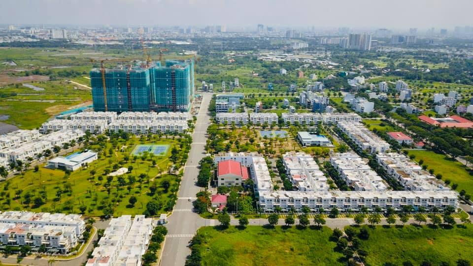 Hình ảnh thực tế tổng khu Lovera Park Bình Chánh