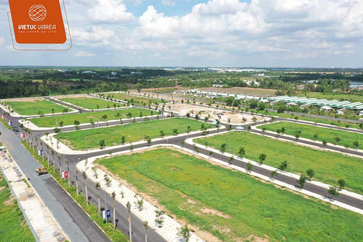 Tiến độ cập nhật mới nhất dự án đất nền VietUc Bến Lức