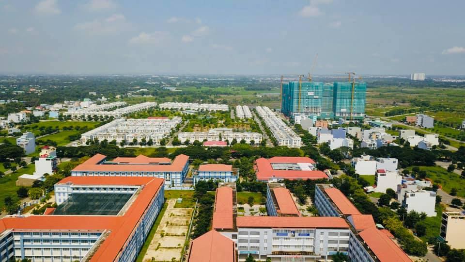 Cụm các trường học trong khu Lovera Park Khang Điền