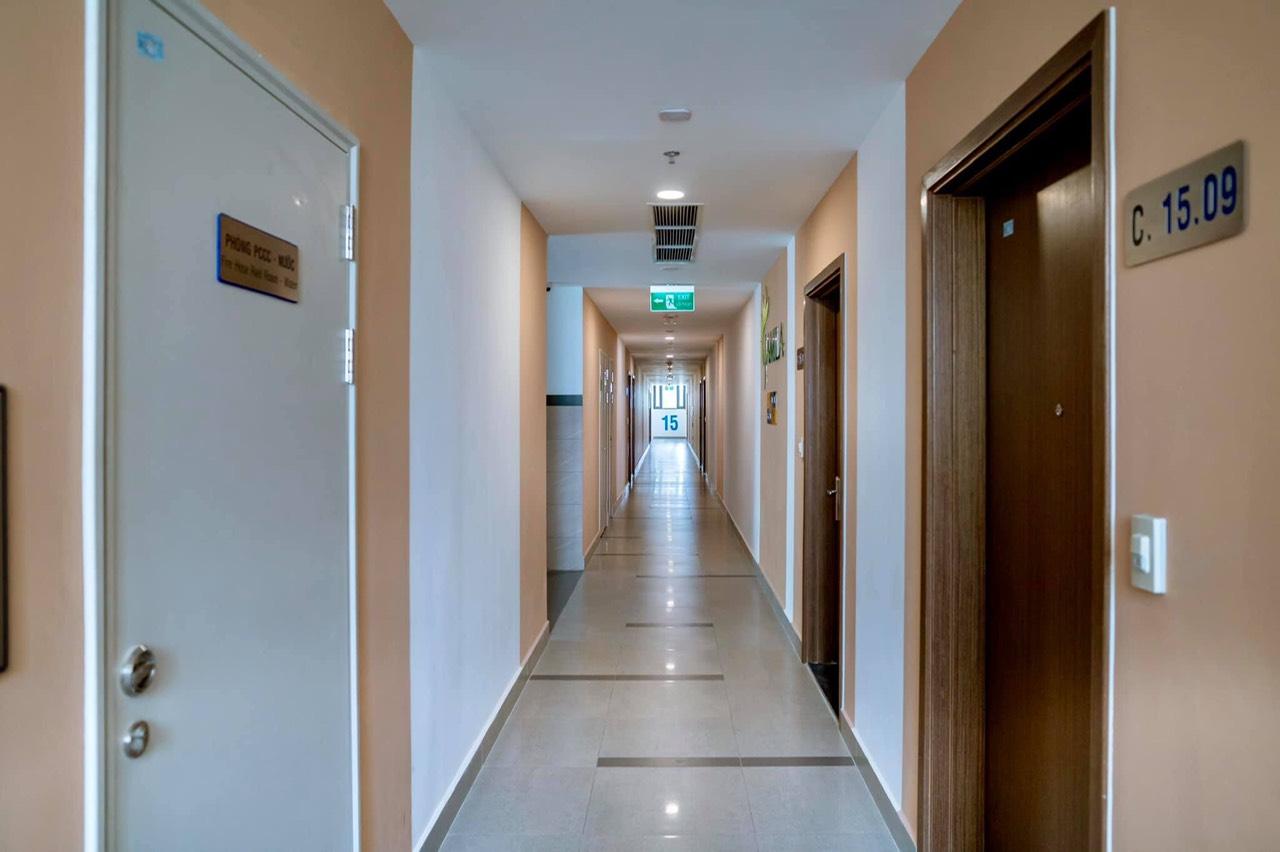 Hình ảnh thực tế hành lang căn hộ Khang Điền Quận 9 Jamila