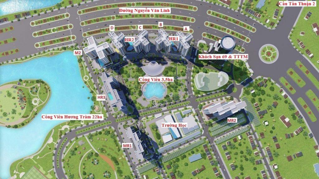 Dự án căn hộ Eco Green Saigon Quận 7 Chủ Đầu Tư Xuân Mai