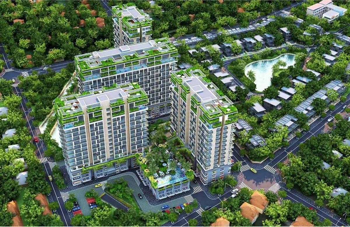 Dự án căn hộ chung cư Dragon Sky View Tô Ngọc Vân
