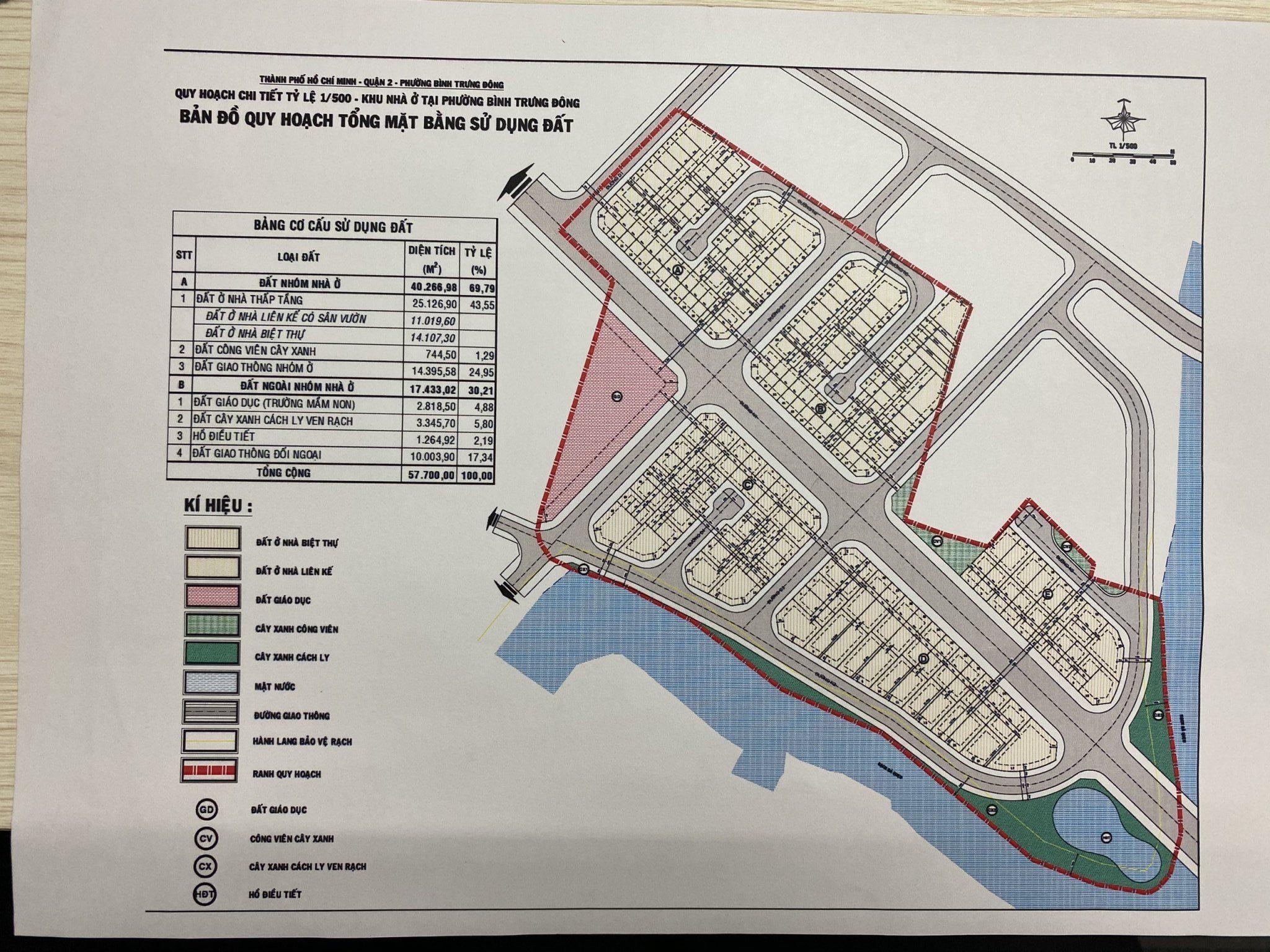1 phân khu của dự án nhà phố biệt thự Clarita Khang Điền Quận 2