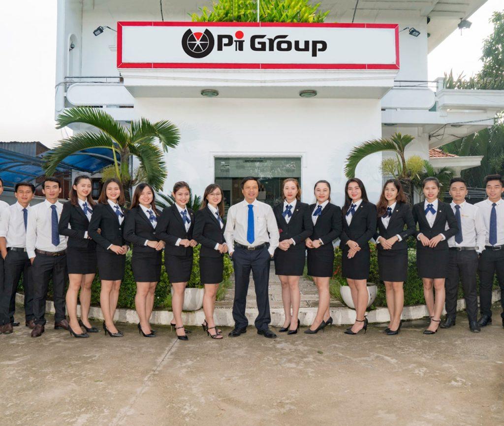 Đội ngũ chuyên nghiệp của chủ đầu tư PI Group.