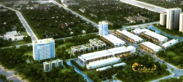 Phối cảnh tổng khu dự án căn hộ MT Eastmark City Centana Quận 9