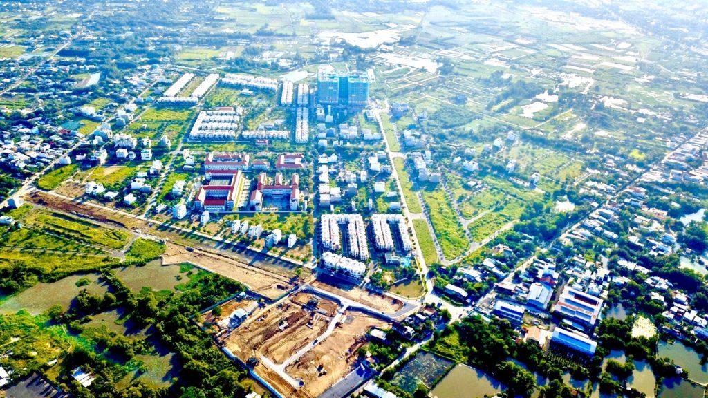 Thực tế tổng khu Lovera Park Khang Điền Bình Chánh