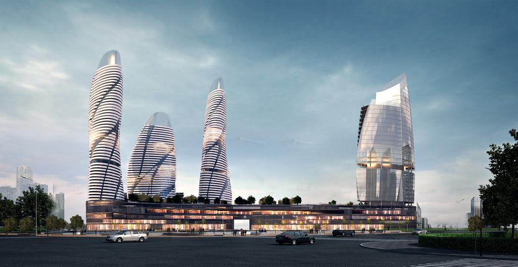 Phối cảnh tổng quan dự án căn hộ Suối Tiên Plaza Bình Thạnh