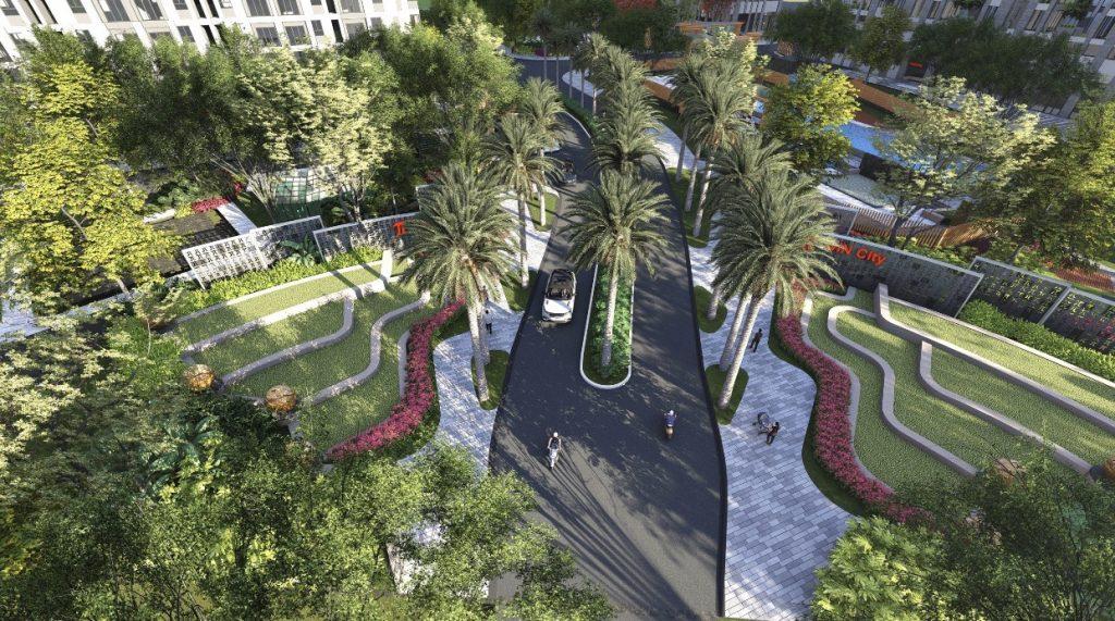 Tiện ích công viên nội khu dự án Picity High Park Quận 12