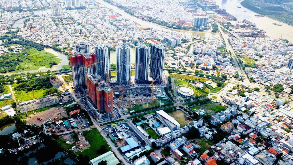 Tiến độ tháng 10 dự án Eco Green Sài Gòn Quận 7