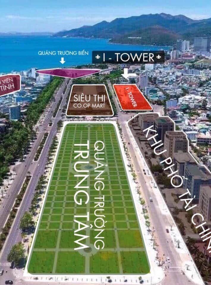 Vị trí chi tiết khu đất dự án I-Tower Residences Quy Nhơn.
