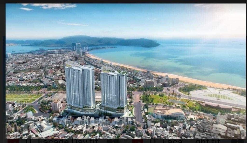 Vị trí view nhìn biển căn hộ I-Tower Residences Quy Nhơn.