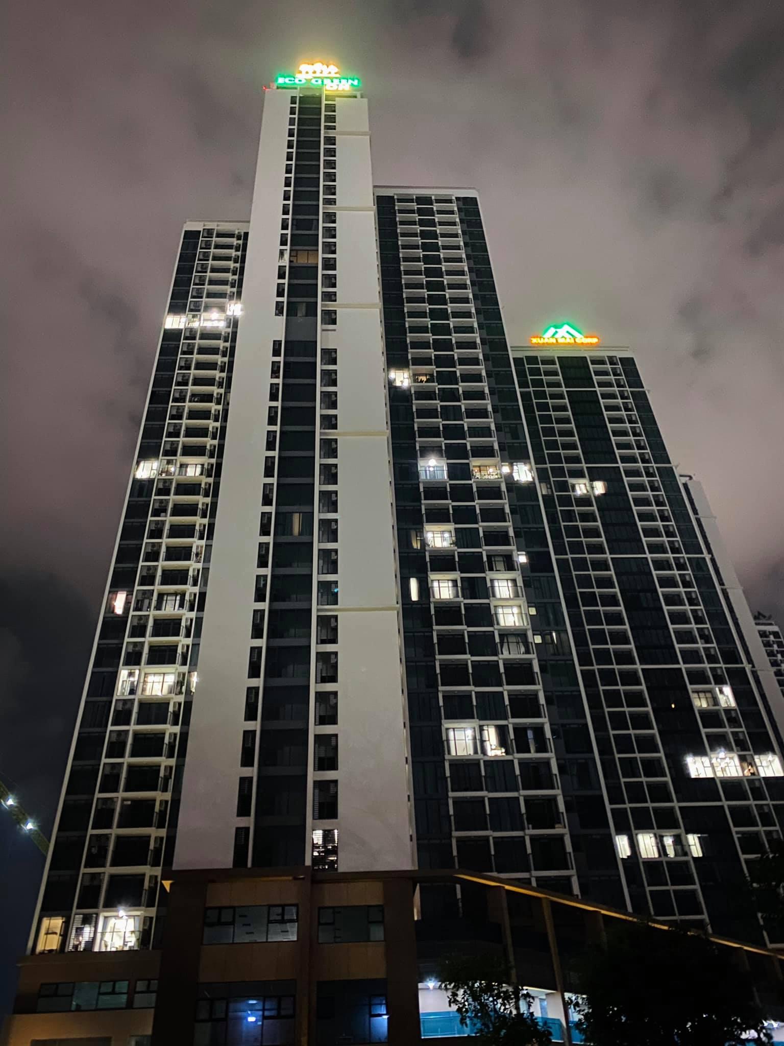 Tòa Hr1 Eco Green Sài Gòn Về Đêm