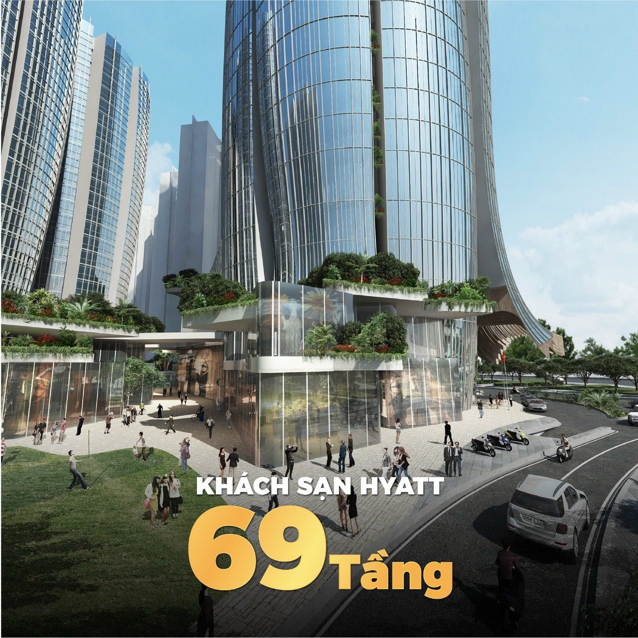 Khách sạn 69 tầng biểu tượng của quận 7