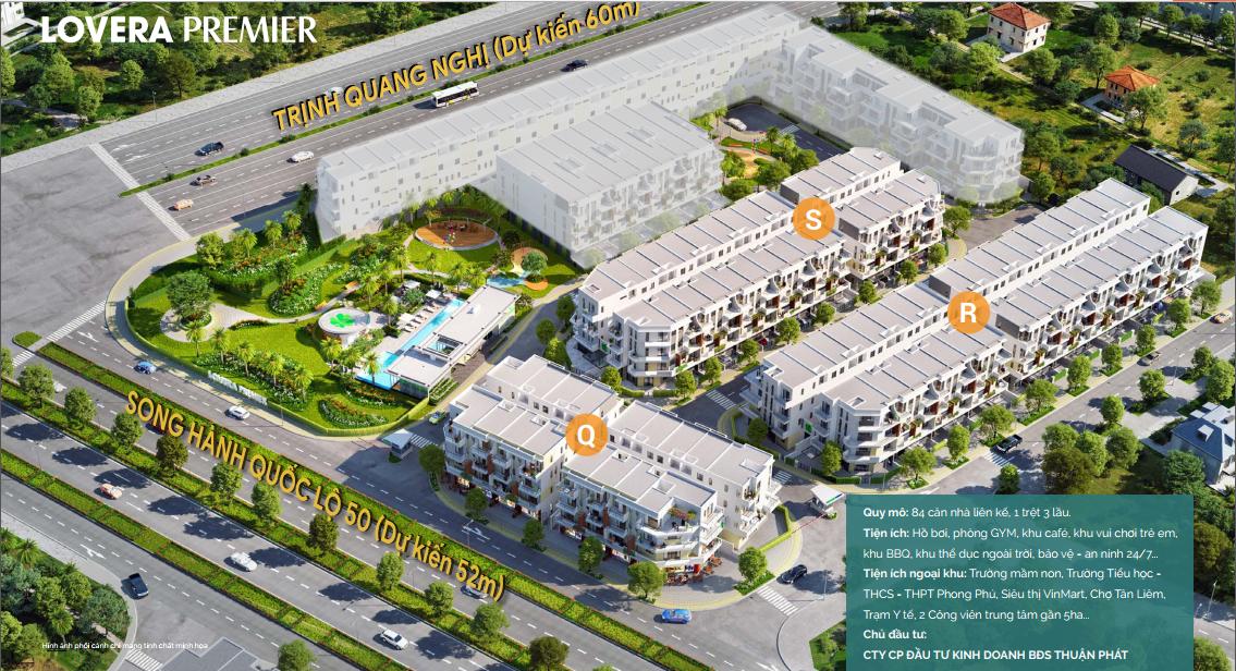 Dự án Lovera Premier Bình Chánh Khang Điền