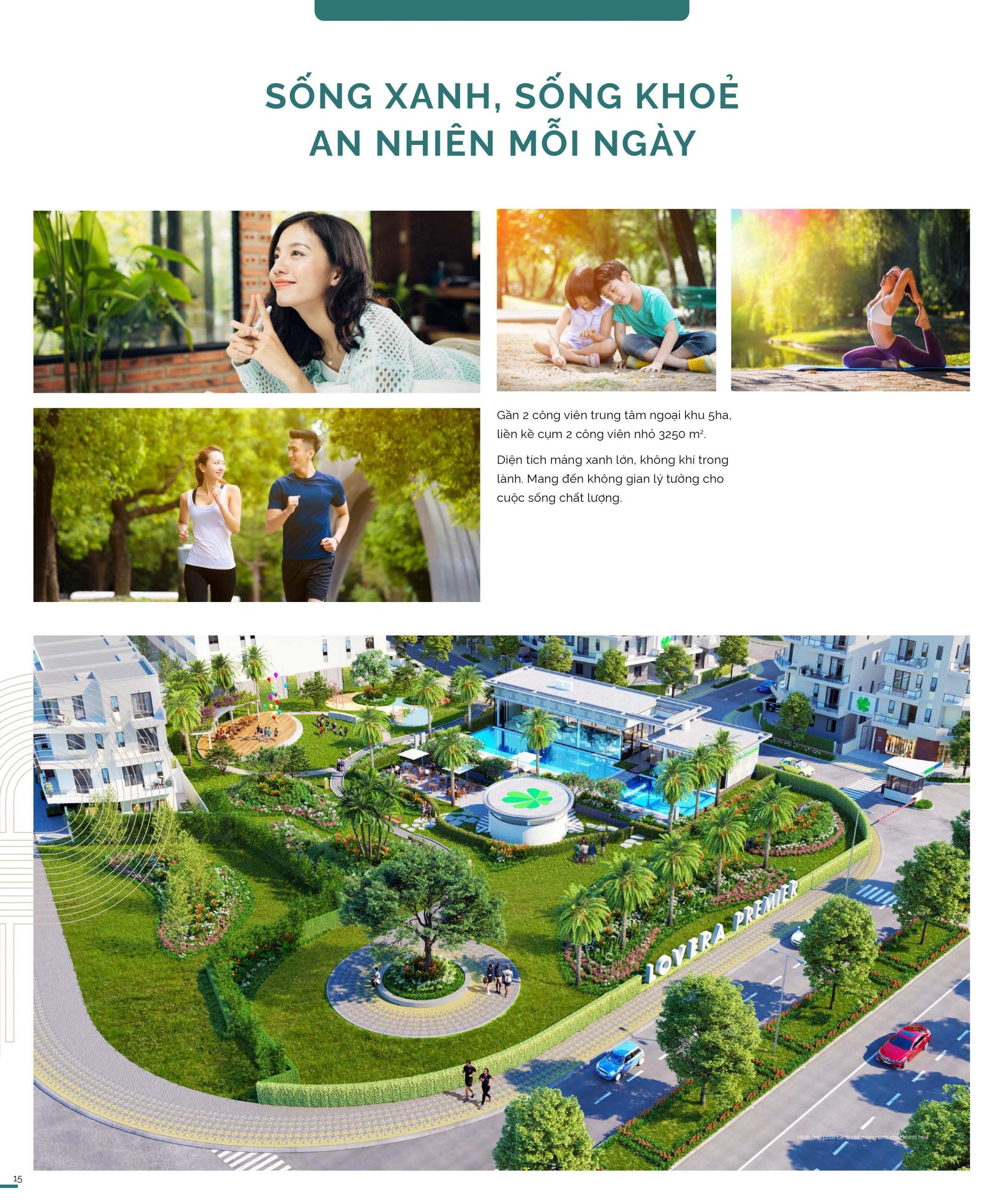 Tiện ích nhà phố Lovera Premier Khang Điền Bình Chánh