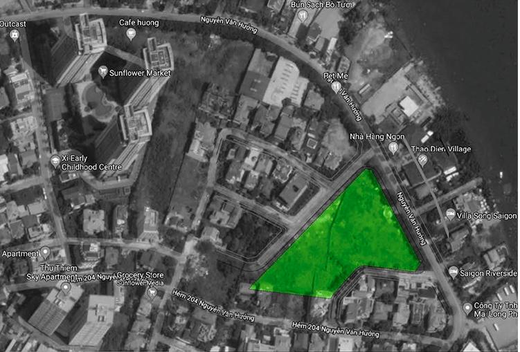 Vị trí dự án King Crown Village Thảo Điền Quận 2