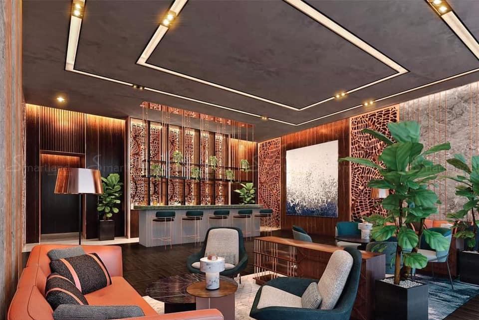 Khu cafe thư giãn tại dự án Lumiere Riverside Quận 2 Thảo Điền