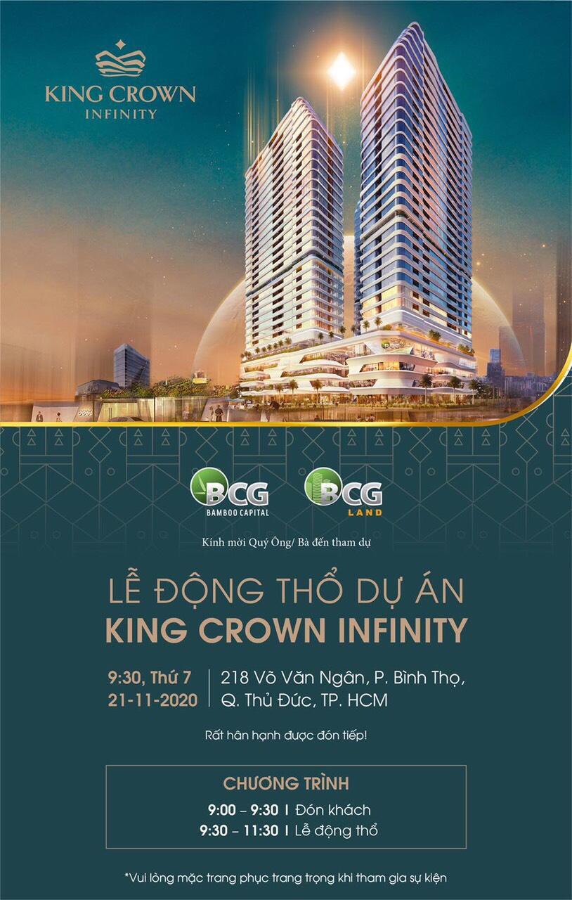 Lễ động thổ dự án căn hộ King Crown Center Thủ Đức CĐT BCG